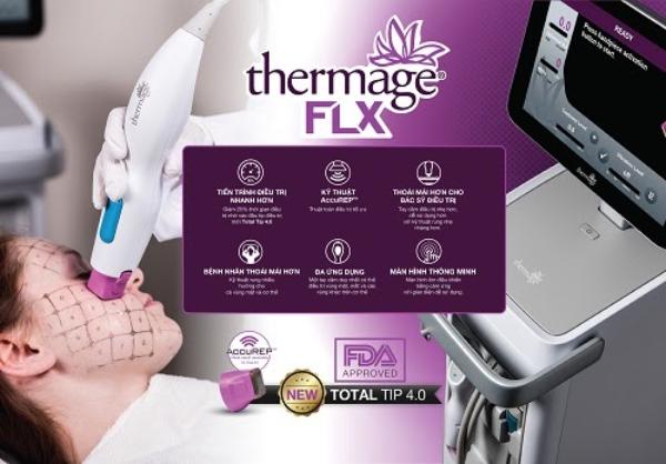 Thermage FLX là thế hệ máy mới Thermage nhất với những cải tiến vượt trội so với các thế hệ trước