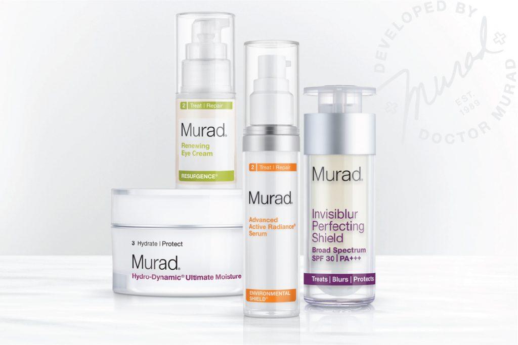 Một trong những hãng mỹ phẩm chăm sóc da của Mỹ được đánh giá cao chính là Murad