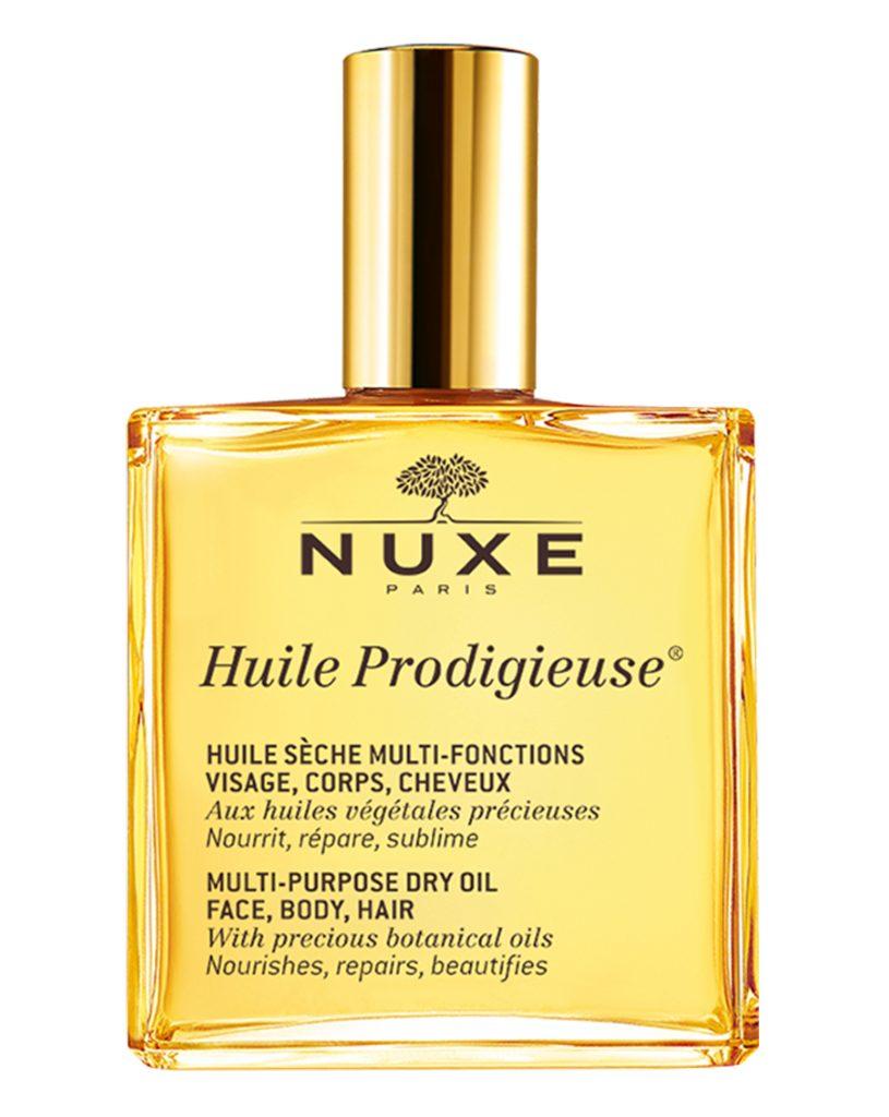 Trong số mỹ phẩm chăm sóc da của Pháp, dầu dưỡng ẩm Nuxe được đánh giá khá cao