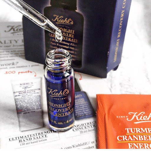 Dầu dưỡng da Kiehl's Midnight Recovery Concentrate