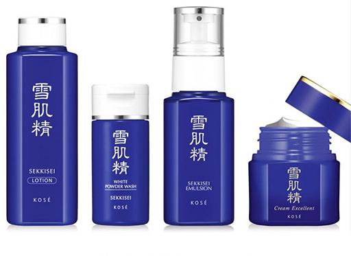 Chị em có thể thử nghiệm bằng bộ mỹ phẩm cơ bản trước khi đầu tư trọn bộ mỹ phẩm chăm sóc da Kose Sikkisei 7 món
