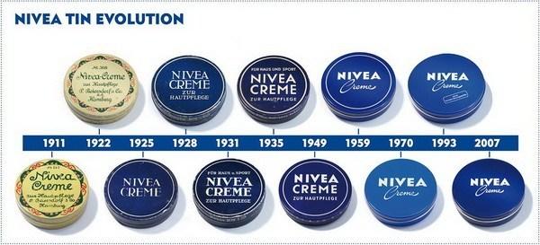 Lịch sử lâu đời của dòng kem dưỡng ẩm Nivea
