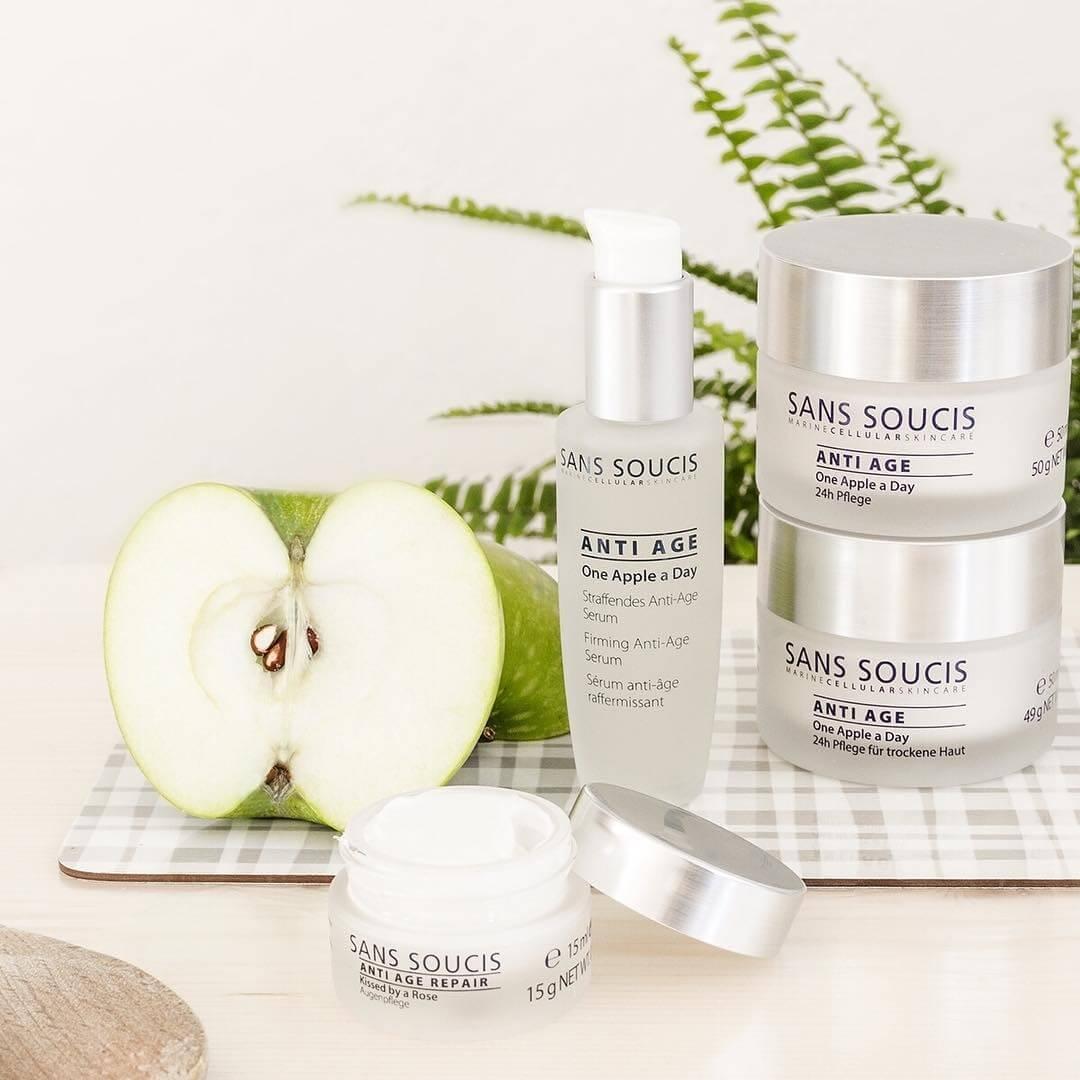 Sans Soucis là một trong số các hãng mỹ phẩm chăm sóc da của Đức có thành phần 100% tự nhiên