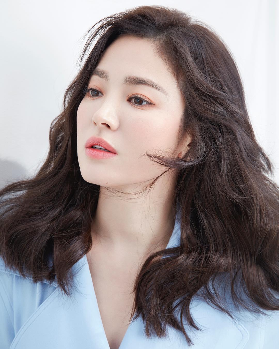 song hye kyo da trắng