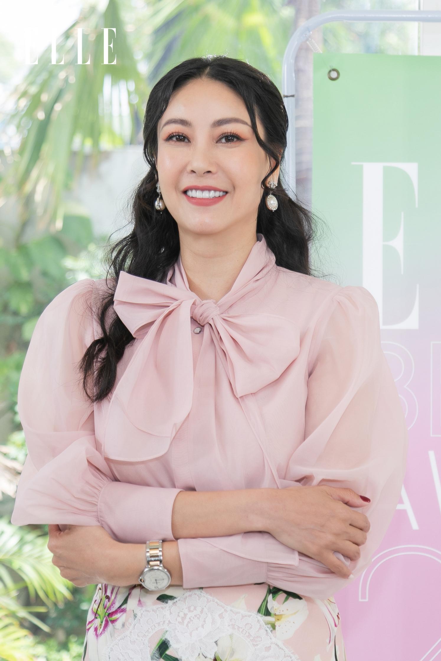 Ban cố vấn ELLE Beauty Awards 2021 - Hoa hậu Hà Kiều Anh